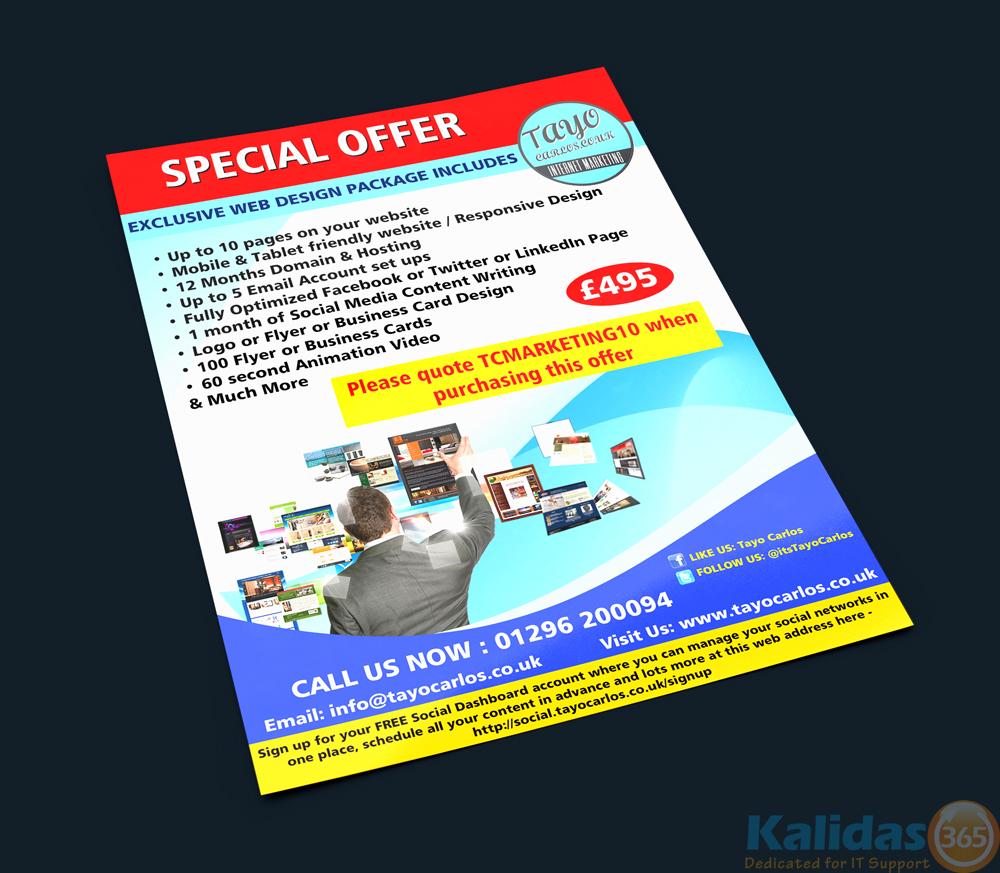 Flyer Design – Kalidas365 IT Solutions