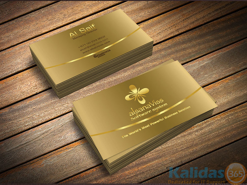Business card al saif kalidas365 it solutions business card al saif colourmoves Choice Image
