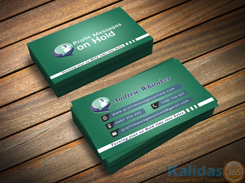 Business Card Messages On Hold – Kalidas365 IT Solutions