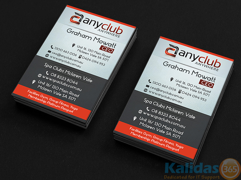 Business Car – AnyClub – Kalidas365 IT Solutions