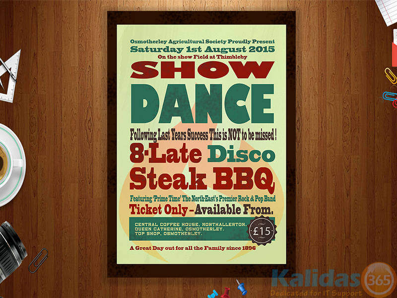 Poster-Dance-Show