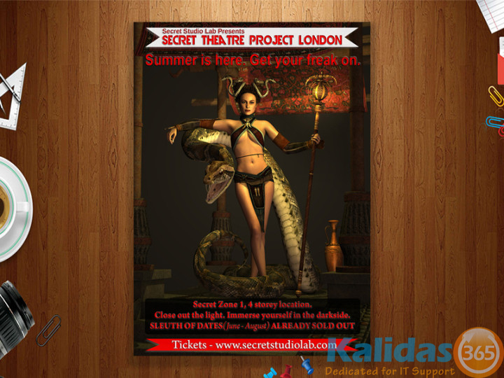 Poster-of-the-secret-theatre-project-London