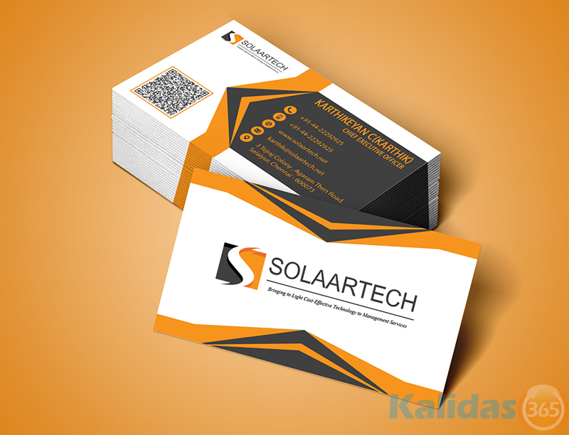 Business Card – Kalidas365 IT Solutions