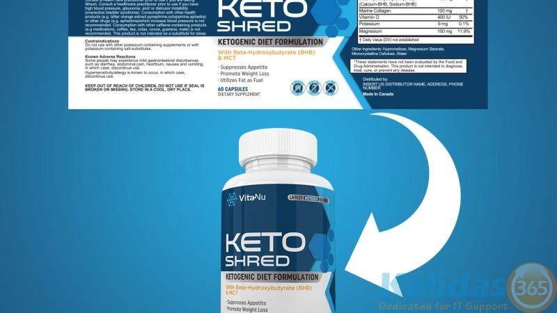 Keto-Blend-Label