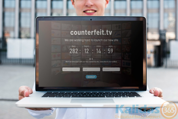 Count-down-page-design